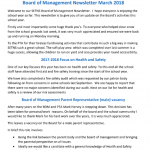 BoM Newsletter March 2018
