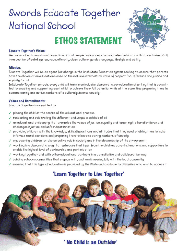 school ethos and policies The ethos that has developed within the school is based on mutual respect and   policies we have put in place to ensure a productive learning environment.
